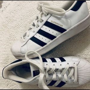 Adidas Superstar White/Black Shoe